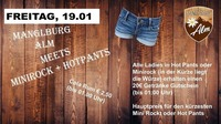 Manglburg Alm meets Minirock+Hotpants