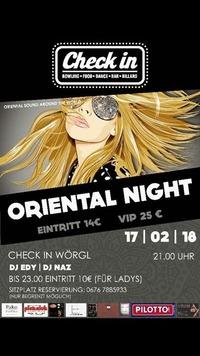 ORIENTAL NIGHT@Check in