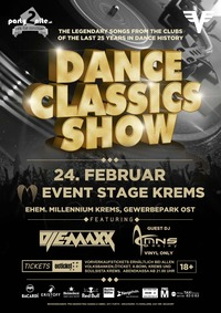 Dance Classics Show Vol. 7 ★ Dj E-MaxX vs. Dj MNS ★@Event Stage Krems