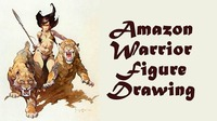 Amazon Warrior Figure Drawing Session