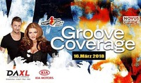 Groove Coverage live im Sugarfree-Ried