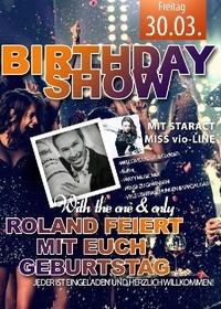 Rolands Birthday Bash
