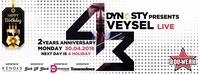 Veysel LIVE // 2nd Anniversary of Dynasty at Bollwerk