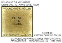 """Wolfgang F. MÜLLER """"Poesie des Lichts"""""""