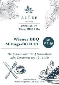 Wiener BBQ Mittags-Buffet@die ALLEE
