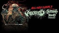 Aborted, Cryptopsy, Benighted, Cytotoxin I Arena Wien