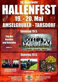 38. Tarsdorfer Hallenfest Frühschoppen mit Oldtimertreffen@Hallenfestgelände der FF Tarsdorf, Firma Amselgruber Landtechnik