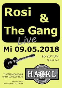 Rosi & The Gang@Tanzcafé Hackl