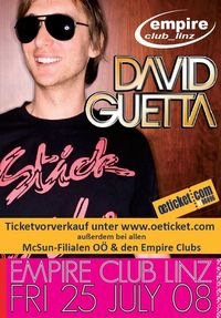 David Guetta LIVE on Stage