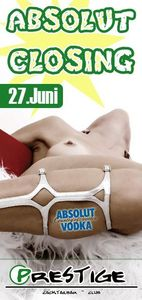 Absolut closing