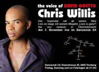 The voice of David Guetta: Chris Willis