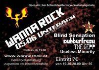 Wanna Rock@Strandbad Unterach (bei Schlechtwetter in der Veranstaltungshalle)