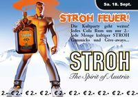 Stroh Feuer