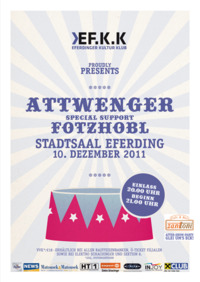 Attwenger (supported by Fotzhobl)@Stadtsaal Eferding