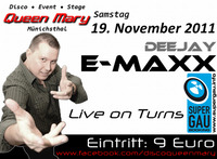 DJ E-MaxX - Live On Turns